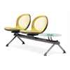OFM NET Series 2 Seats & 1 Table Beam, Yellow
